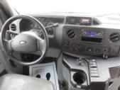 2009 Goshen Coach Ford 12 Passenger and 2 Wheelchair Shuttle Bus Interior-09216-17