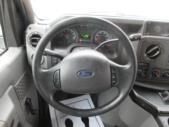 2009 Goshen Coach Ford 12 Passenger and 2 Wheelchair Shuttle Bus Interior-09216-18