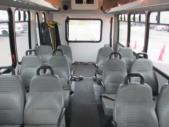 2009 Goshen Coach Ford 12 Passenger and 2 Wheelchair Shuttle Bus Interior-09216-9