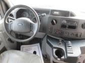 2012 Goshen Coach Ford 12 Passenger and 2 Wheelchair Shuttle Bus Interior-09217-11