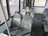 2012 Goshen Coach Ford 12 Passenger and 2 Wheelchair Shuttle Bus Rear exterior-09217-8