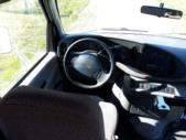 2000 Goshen Coach Ford 12 Passenger and 2 Wheelchair Shuttle Bus Interior-09283-9