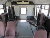2004 ElDorado Ford E450 8 Passenger and 4 Wheelchair Shuttle Bus Interior-09327-12