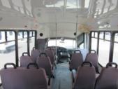 2004 ElDorado Ford E450 8 Passenger and 4 Wheelchair Shuttle Bus Interior-09327-14