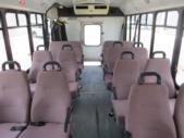 2004 ElDorado Ford E450 8 Passenger and 4 Wheelchair Shuttle Bus Rear exterior-09327-8