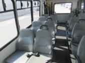 2006 Goshen Coach Ford E450 16 Passenger and 2 Wheelchair Shuttle Bus Interior-09523-10
