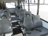 2006 Goshen Coach Ford E450 16 Passenger and 2 Wheelchair Shuttle Bus Interior-09523-9