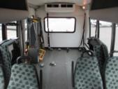 2008 Turtle Top Ford E450 8 Passenger and 4 Wheelchair Shuttle Bus Interior-09541-9