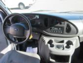2005 Ford Econoline Ford E250 6 Passenger and 1 Wheelchair Van Interior-09542-10