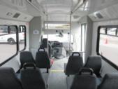 2012 Glaval Ford E450 12 Passenger and 2 Wheelchair Shuttle Bus Interior-09567-11