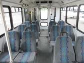 2012 Glaval Ford E450 12 Passenger and 2 Wheelchair Shuttle Bus Front exterior-09567-7