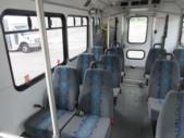 2012 Glaval Ford E450 12 Passenger and 2 Wheelchair Shuttle Bus Interior-09567-9