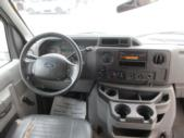 2010 Starcraft Ford E450 8 Passenger and 3 Wheelchair Shuttle Bus Interior-09585-13