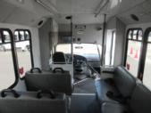 2007 Goshen Coach Ford E350 10 Passenger and 2 Wheelchair Shuttle Bus Interior-09586-11