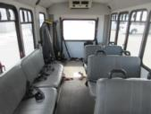 2007 Goshen Coach Ford E350 10 Passenger and 2 Wheelchair Shuttle Bus Front exterior-09586-7