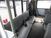 2007 Goshen Coach Ford E350 10 Passenger and 2 Wheelchair Shuttle Bus Interior-09586-9