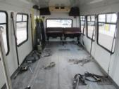 1995 StarTrans Ford E350 0 Passenger and 7 Wheelchair Shuttle Bus Side exterior-09808-6