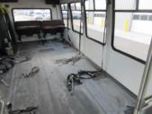 1995 StarTrans Ford E350 0 Passenger and 7 Wheelchair Shuttle Bus Front exterior-09808-7
