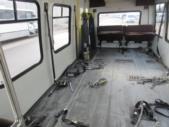 1995 StarTrans Ford E350 0 Passenger and 7 Wheelchair Shuttle Bus Rear exterior-09808-8