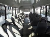 2008 Goshen Coach Ford F550 26 Passenger and 2 Wheelchair Shuttle Bus Side exterior-09828-5