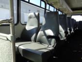 2002 Glaval Chevrolet 29 Passenger Shuttle Bus Front exterior-09997-7