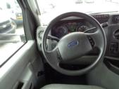 2009 StarTrans Ford 4 Passenger and 4 Wheelchair Shuttle Bus Front exterior-U10126-7