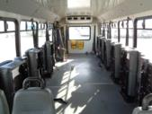 2011 Goshen Coach Ford 4 Passenger and 8 Wheelchair Shuttle Bus Side exterior-U10177-6