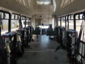 2012 Goshen Coach Ford 4 Passenger and 8 Wheelchair Shuttle Bus Interior-U10178-10
