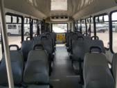 2012 Goshen Coach Ford 4 Passenger and 8 Wheelchair Shuttle Bus Front exterior-U10178-7