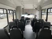 2017 StarTrans Ford 12 Passenger and 2 Wheelchair Shuttle Bus Interior-U10406-13